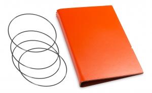 A6 Hülle 3er Lefa orange inkl. ElastiXs