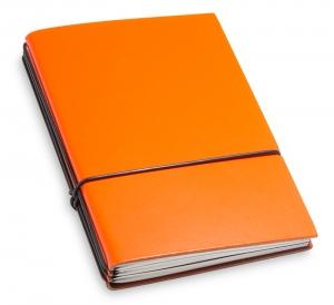 A6 3er Lefa orange mit Notizenmix