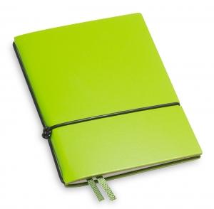A7 1er Lefa grün mit Notizenmix