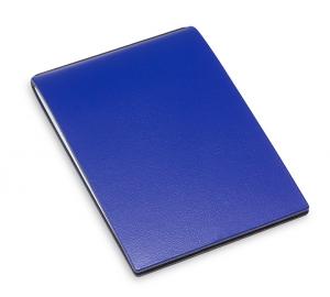 X-Steno Lefa blau mit 1 Einlage