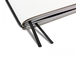 A4+ Doppelbuchband schwarz