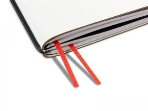 Doppelbuchband rotorange