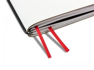 Doppelbuchband rot