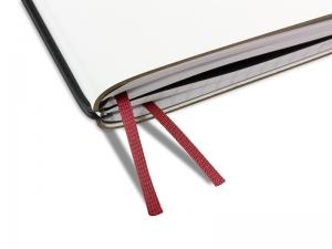 A4+ Doppelbuchband bordeaux