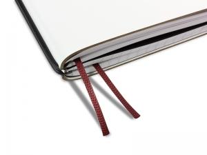 Doppelbuchband weinrot