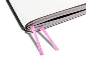 Doppelbuchband rosa