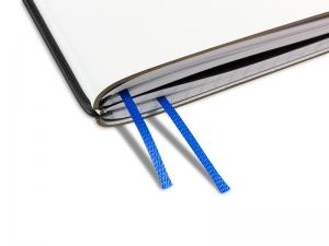 Doppelbuchband blau