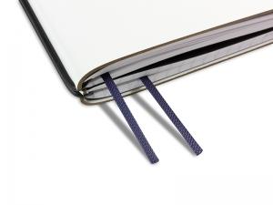 Doppelbuchband dunkelblau