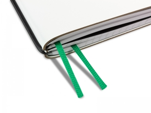 A4+ Doppelbuchband grasgrün