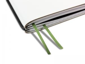 A4+ Doppelbuchband jagdgrün