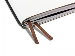 A4+ Doppelbuchband braun