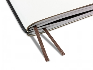 Doppelbuchband dunkelbraun