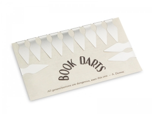 Book Darts - Bogen Edelstahl - 12 St.