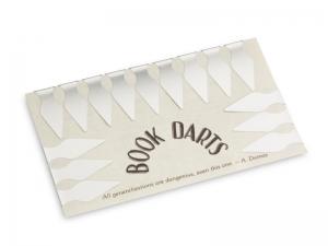Book Darts - Bogen Edelstahl - 15 St.