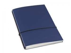 A5 2er HardSkin dunkelblau Notizenmix
