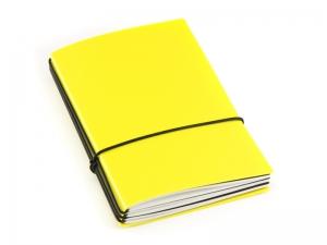 A6 3er HardSkin gelb Notizenmix