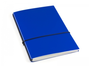 A5 2er HardSkin königsblau Notizenmix