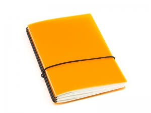 A6 3er HardSkin mandarine Notizenmix