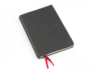 A5 1er Notizbuch Lefa graphit, Notiz Blanko
