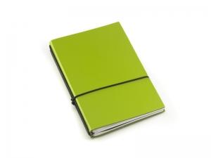 A5 3er Notizbuch Lefa grün, Notizenmix