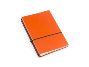 A5 3er Notizbuch Lefa orange, Notizenmix