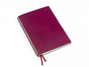 A6 1er Lefa violett mit 1 x Notiz