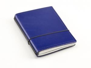 A7 2er Leder glatt blau mit Kalender 2020