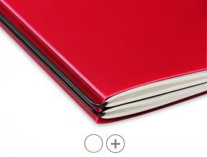 A4+Hülle HardSkin für 2 Hefte