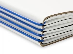 ElastiX A4+ blau, 2er Pack + Verschluß