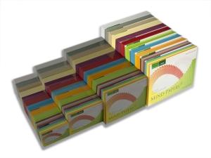 DIN A5 Mind-Papers Nachfüllpack, 100 Karteikarten