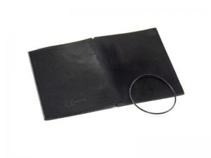 A7 Hülle 1er Leder glatt schwarz inkl. ElastiXs