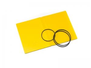 A7 Hülle 2er Lefa gelb inkl. ElastiXs