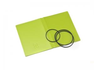 A7 Hülle 2er Lefa grün inkl. ElastiXs