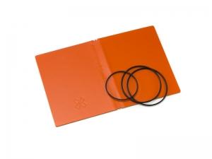 A7 Hülle 2er Lefa orange inkl. ElastiXs