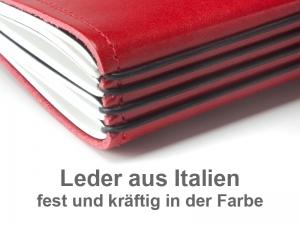 A5 Terminplaner Leder Glatt 2020 (4 Einlagen)