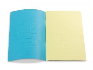 Kochlust Einlage mit abtrennbarem Umschlag (blau oder gelb)