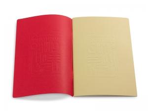 Kochlust Einlage mit abtrennbarem Umschlag (rot oder sandbraun)