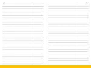 A6 Leporello Adress-/Datenregister