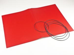A4+ Hülle 3er Lefa rot inkl. ElastiXs