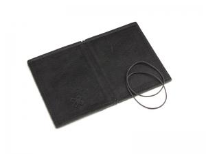A7 LeatherSkin Hülle schwarz , inkl. ElastiXs