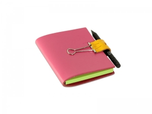 AUGUST A7 Mind-Papers Leder glatt