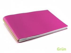 A5+ Quer PINK Edition mit farbigen ElastiXs (2 bis 3 Hefte)
