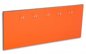 X17 Schlüsselbrett 5er Lefa orange