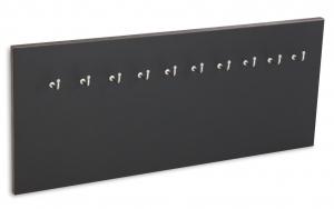 X17 Schlüsselbrett 10er Lefa schwarz