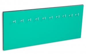 X17 Schlüsselbrett 10er Lefa türkisgrün