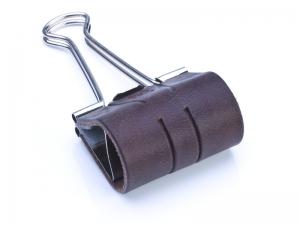 Sloop 40 mm LeatherSkin, vegetabil gegerbt, dunkelbraun