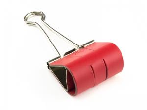 Sloop 50mm Lefa beschichtet rot
