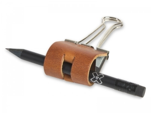 Sloop 25 mm Leder natur brandy