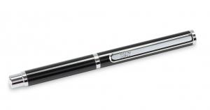 X47-Kugelschreiber MINI in schwarz glänzend