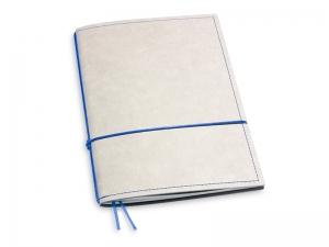 A5 1er Notizbuch Texon stone / blau